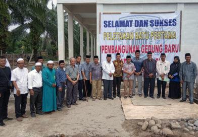 Acara Peletakan Batu Pertama Pembangunan Ruang Kelas Pondok Pesantren Tahfizhil Qur'an