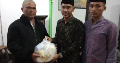 Santri Memberikan Bantuan Ke Kabupaten Karo