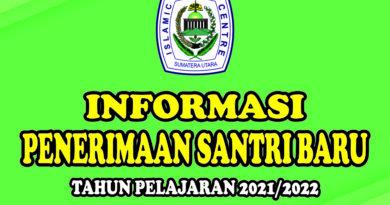 INFORMASI PENERIMAAN SANTRI BARU TP. 2021/2022